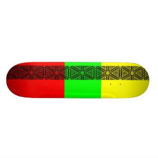 vora tribal peace skateboard by kenneth shaw