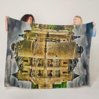 Vorselaar Castle, Belgium Acrylic Art Fleece Blanket