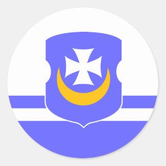 Vorsza, Belarus Classic Round Sticker