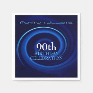 Vortex 90th Birthday Celebration Paper Napkins