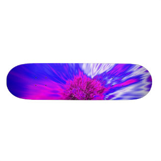 Vortex Abstract Digital Fractal Skateboards