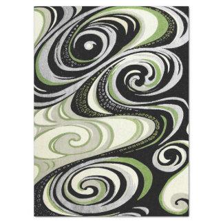 Vortex Abstract Tissue Paper