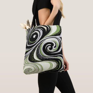Vortex Abstract Tote Bag