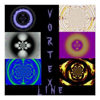 Vortex Line Poster