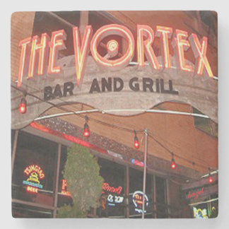 Vortex, Midtown, Atlanta Marble Stone Coaster. Stone Coaster
