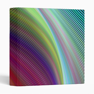 Vortex of colours 3 ring binders