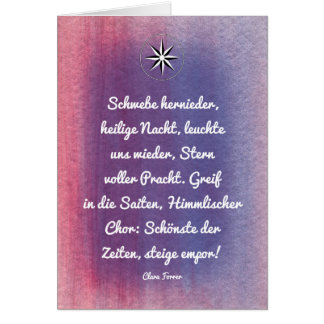Vorweihnachtlich Card