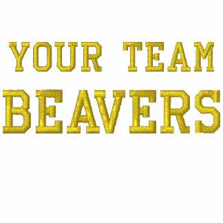 Vos castors de nom d'équipe ont brodé le tee -