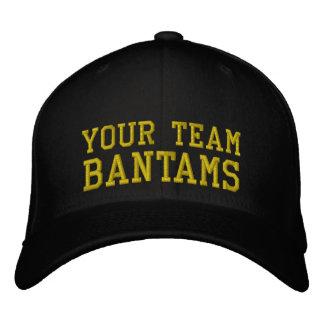 Vos coqs nains de nom d'équipe ont brodé le chapea casquette brodée