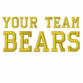 Vos ours de nom d'équipe ont brodé le polo