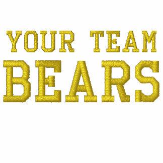 Vos ours de nom d'équipe ont brodé le tee - shirt