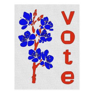 VOTE 2012 POSTCARD