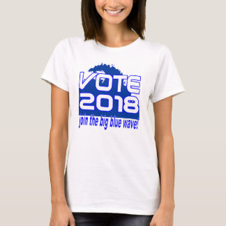 VOTE 2018 Blue Wave t-shirt