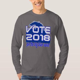 VOTE 2018 Blue Wave t-shirt