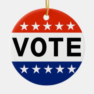 Vote 2018 Midterm Elections Ceramic Ornament