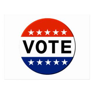Vote 2018 Midterm Elections Postcard