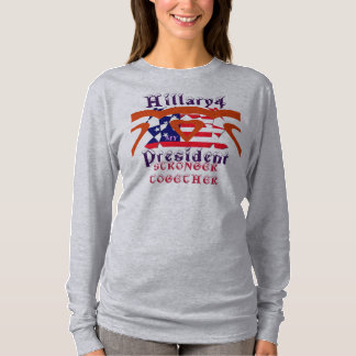 Vote 4 Hillary President we are stronger together T-Shirt