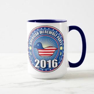VOTE BACON the Werewolf Party Mug