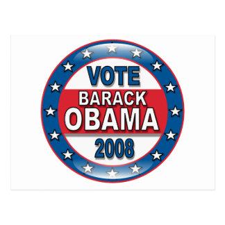 Vote Barack Obama 2008 Post Cards