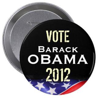 Vote Barack OBAMA 2012 Campaign Button