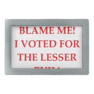 VOTE BELT BUCKLES