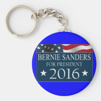 Vote Bernie Basic Round Button Keychain