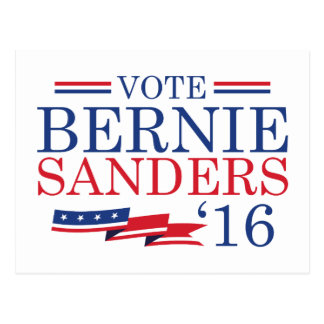 Vote Bernie Sanders 2016 Postcard