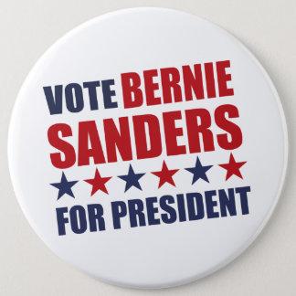 Vote Bernie Sanders 6 Inch Round Button