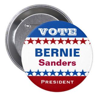 Vote Bernie Sanders President 3 Inch Round Button