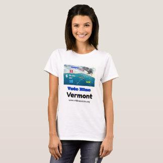 Vote Blue Vermont Women's 2018 Voting T-Shirt