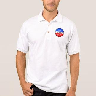 Vote Button President Polo Shirt