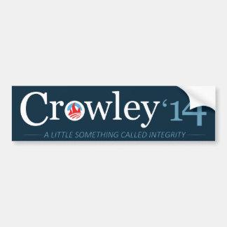 Vote Crowley Bumper Sticker