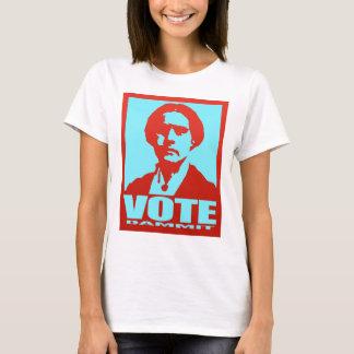 Vote Dammit Susan B. Anthony Pop Art T-Shirt