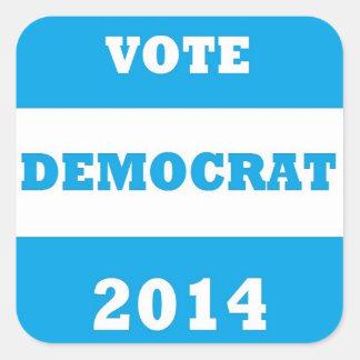 Vote Democrat 2014 - Stickers