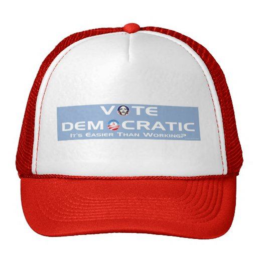 Vote Democratic Mesh Hat
