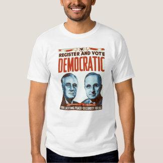 Vote Democratic T Shirt