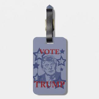Vote Donald Trump 2016 Bag Tag