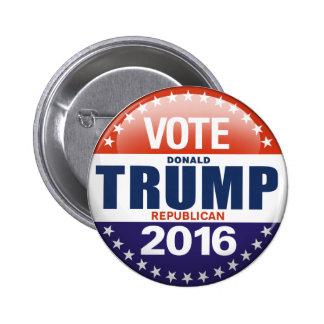 Vote Donald Trump for President 2016 2 Inch Round Button