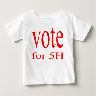 vote election republic democrat 2016 coming 5h fif baby T-Shirt