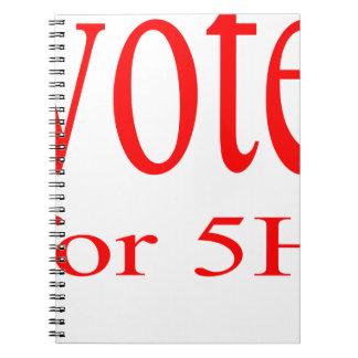 vote election republic democrat 2016 coming 5h fif spiral note books