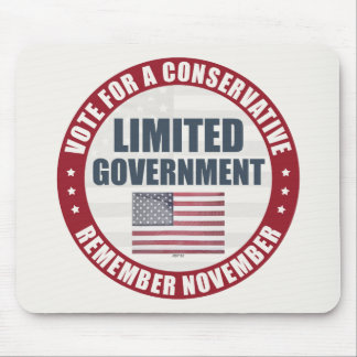 Vote For A Conservative Mouse Pad