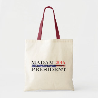 Vote for a Madam President in 2016 Budget Tote Bag
