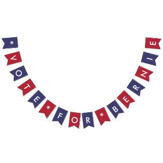 Vote for Bernie Sanders Democratic American Flag