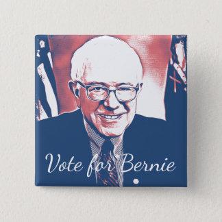 Vote for Bernie Sanders Support Digital Art Button