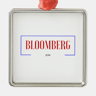 Vote for Bloomberg in 2016 Metal Ornament