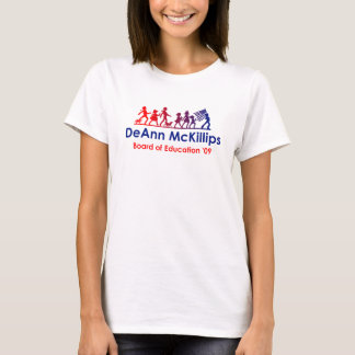 Vote for DeAnn - Ladies Short Sleeve T-Shirt