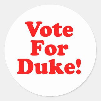 Vote For Duke Phillips  Sticker