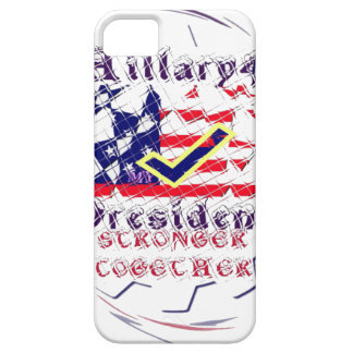 Vote for Hillary USA Stronger Together  My Preside iPhone 5 Covers