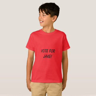 Vote for Jake kid shirt