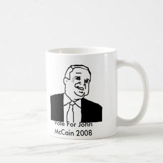 Vote For John McCain Mug